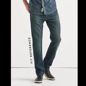 Lucky Brand Men's 33x30 121 Slim Jeans Dark Wash